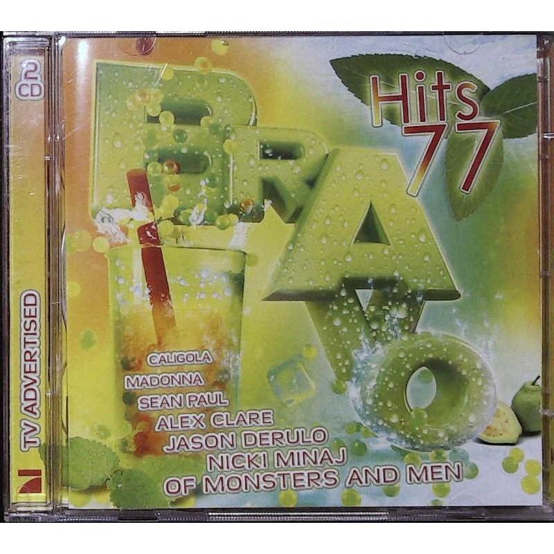 Bravo Hits 77 / 2 CDs - Caligola, Madonna, Alex Clare...