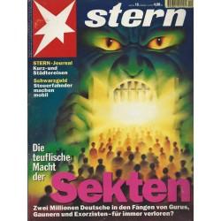 stern Heft Nr.19 / 4 Mai 1995 - Sekten