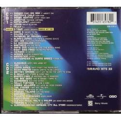 Bravo Hits 33 / 2 CDs - Sofaplanet, Dario G, Glashaus... Rückseite