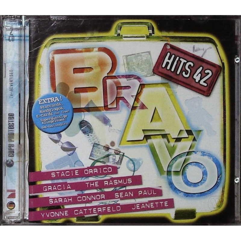 Bravo Hits 42 / 2 CDs - Gracia, The Rasmus, Jeanette...
