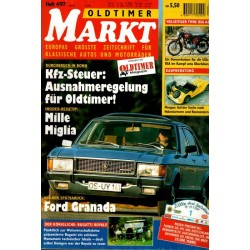 Oldtimer Markt Heft 4/April 1997 - Ford Granada