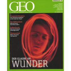 Geo Nr. 1 / Januar 2013 - Der Glaube an Wunder