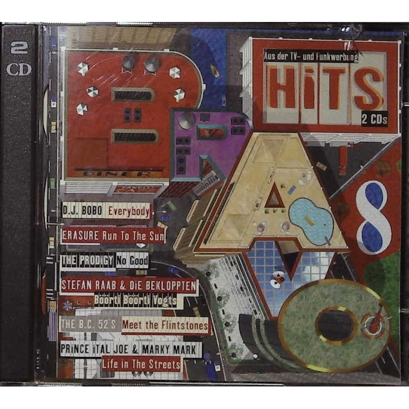 Bravo Hits 8 / 2 CDs - DJ Bobo, The Prodigy, Erasure...