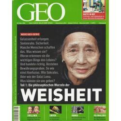 Geo Nr. 3 / März 2006 - Weisheit