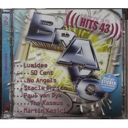 Bravo Hits 43 / 2 CDs - Lumidee, No Angels, Martin Kesici...