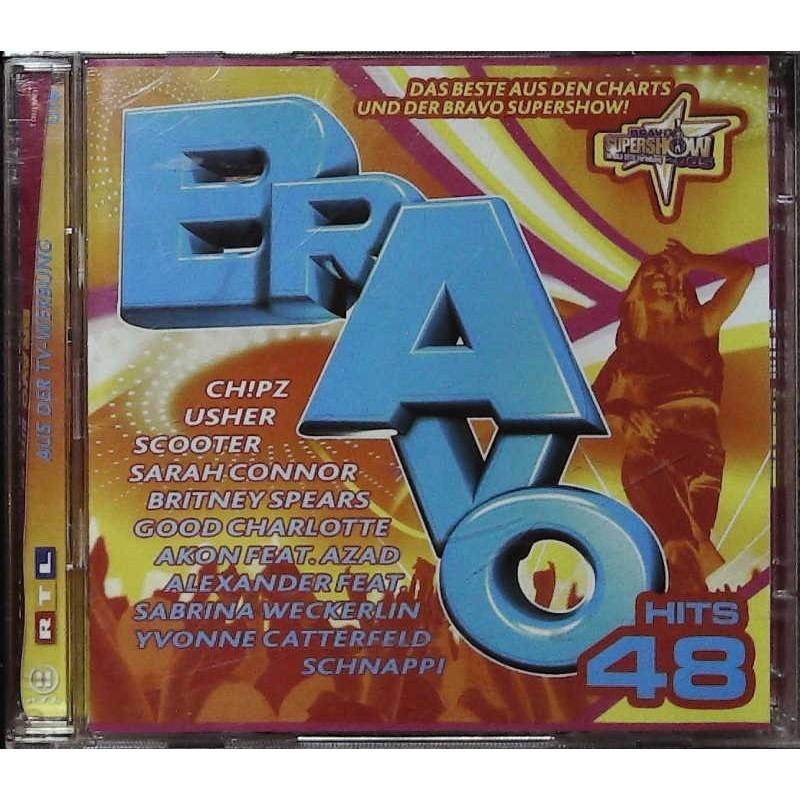 Bravo Hits 48 / 2 CDs - Usher, Scooter, Sarah Connor...