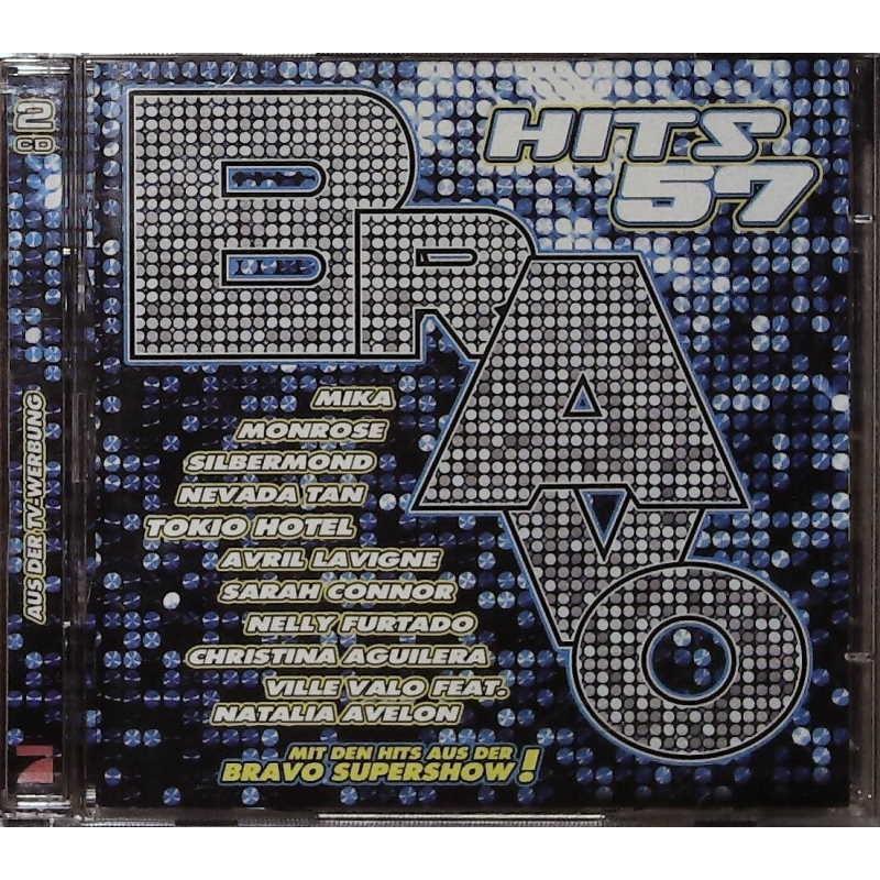 Bravo Hits 57 / 2 CDs - Mika, Monrose, Silbermond...