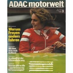 ADAC Motorwelt Heft.2 / Februar 1980 - Warum Frauen anders fahren