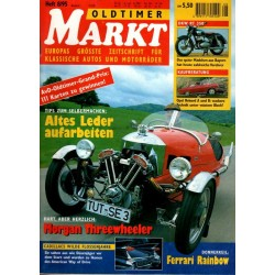 Oldtimer Markt Heft 8/August 1995 - Morgan Threewheeler