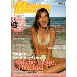 Mädchen Nr.15 / 3 Juli 2002 - Auf die Liege, fertig, los!