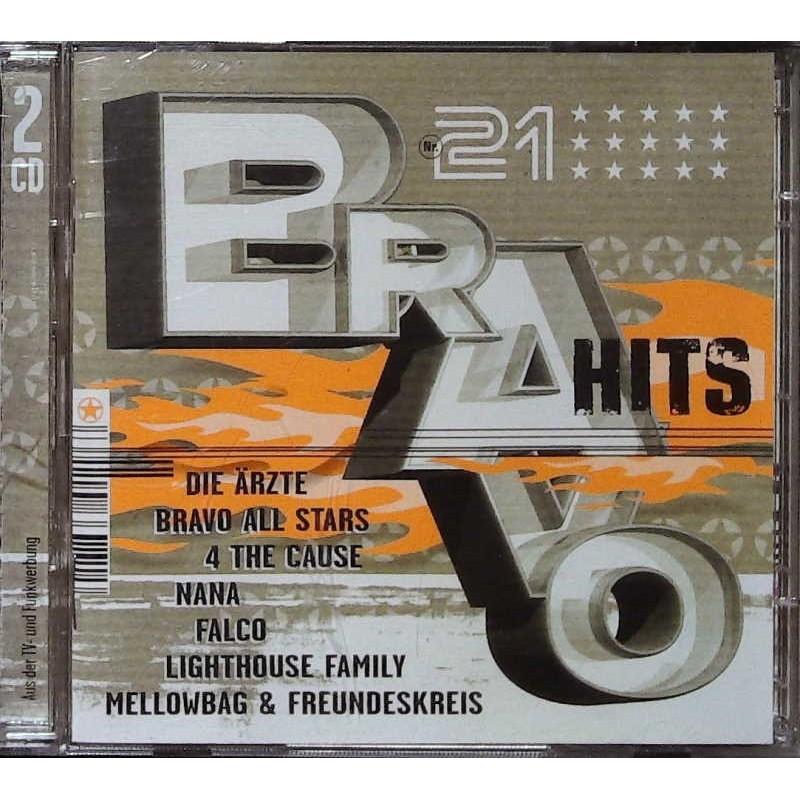 Bravo Hits 21 / 2 CDs - Die Ärzte, 4 The Cause, Falco...