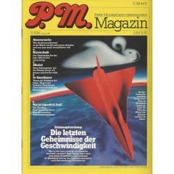 P.M. Ausgabe Juli 7/1986 - Die letzten Geheimnisse der Geschwindigkeit