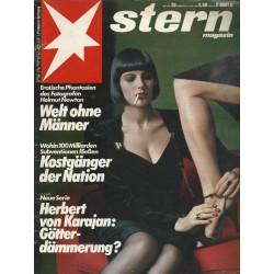 stern Heft Nr.25 / 14 Juni 1984 - Welt ohne Männer