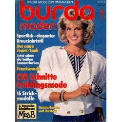 burda Moden 3/März 1986 - Sportlich eleganter Kreuzfahrtstil