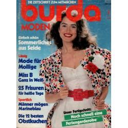 burda Moden 7/Juli 1988 - Sommerliches aus Seide