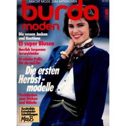 burda Moden 8/August 1986 - Die neuen Jacken