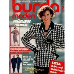 burda Moden 2/Februar 1987 - Frühlings Premiere