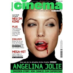 CINEMA 9/08 September 2008 - Angelina Jolie