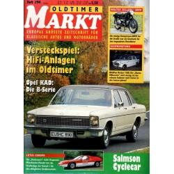 Oldtimer Markt Heft 1/Januar 1994 - Opel KAD