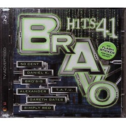 Bravo Hits 41 / 2 CDs - 50 Cent, Tatu, Simply Red, Brosis...