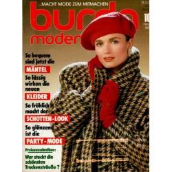 burda Moden 10/Oktober 1987 - Mäntel