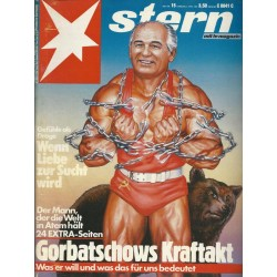 stern Heft Nr.15 / 2 April 1987 - Gorbatschows Kraftakt