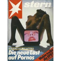 stern Heft Nr.14 / 26 März 1987 - Die neue Lust auf Pornos