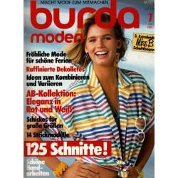 burda Moden 7/Juli 1985 - Raffinierte Dekolletes