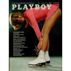 Playboy Nr.1 / Januar 1973 - Danielle de Vabre