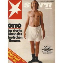 stern Heft Nr.17 / 21 April 1983 - OTTO der starke Mann des deutschen Humors