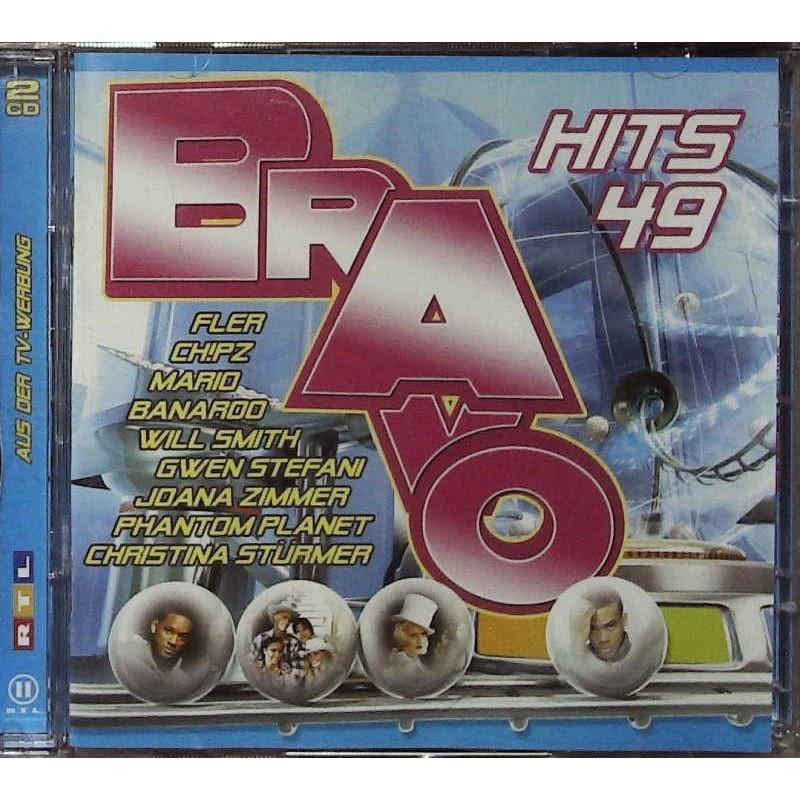 Bravo Hits 49 / 2 CDs - Fler, Chipz, Will Smith, Mario...