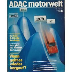 ADAC Motorwelt Heft.8/ Augsut 1980 - Wann geht es wieder bergauf?