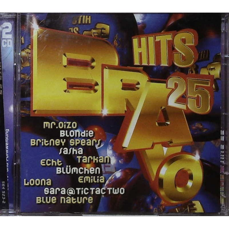 Bravo Hits 25 / 2 CDs - Mr. Oizo, Blondie, Tarkan, Echt, Loona...