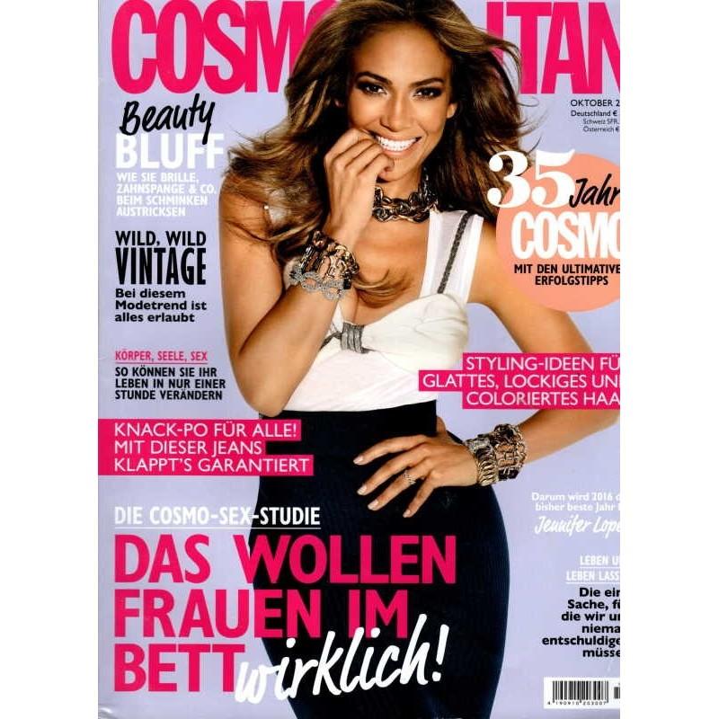 Cosmopolitan 10/Oktober 2015 - Jennifer Lopez