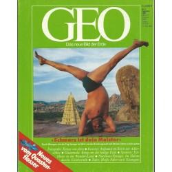 Geo Nr. 9 / September 1990 - Schmerz ist dein Meister
