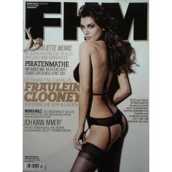 FHM Dezember 2009 - Elisabetta Canalis