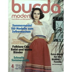 burda Moden 4/April 1977 - Sommermode!