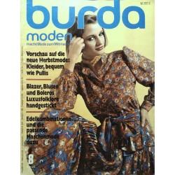 burda Moden 8/August 1977 - Neue Herbstmode