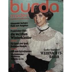 burda Moden 11/November 1977 - Mode zum Ausgehen