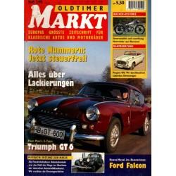 Oldtimer Markt Heft 2/Februar 1995 - Triumph GT 6