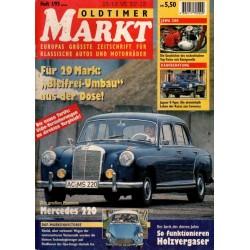 Oldtimer Markt Heft 1/Januar 1995 - Mercedes 220