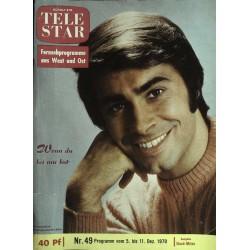 Tele Star Nr. 49 / 5 bis 11 Dezember 1970 - Roy Black