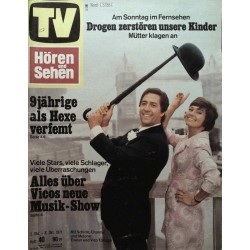 TV Hören & Sehen Nr. 40 / 2 bis 8 Okt. 1971 - Evelyn & Vico Torriani