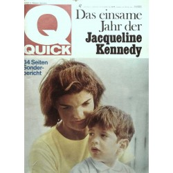 Quick Heft Nr.47 / 22 November 1964 - Jacqueline Kennedy