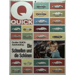 Quick Heft Nr.46 / 13 November 1966 - Autokatalog