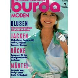 burda Moden 9/September 1991 - Blusen