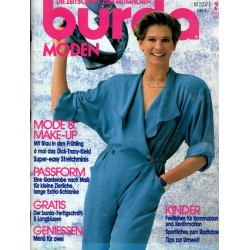 burda Moden 2/Februar 1991 - Mode & Make-Up