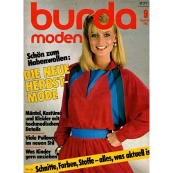 burda Moden 9/September 1982 - Habenwollen