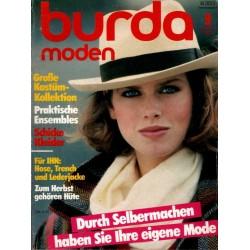 burda Moden 9/September 1983 - Ihre eigene Mode