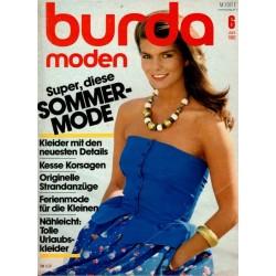 burda Moden 6/Juni 1982 - Sommer-Mode